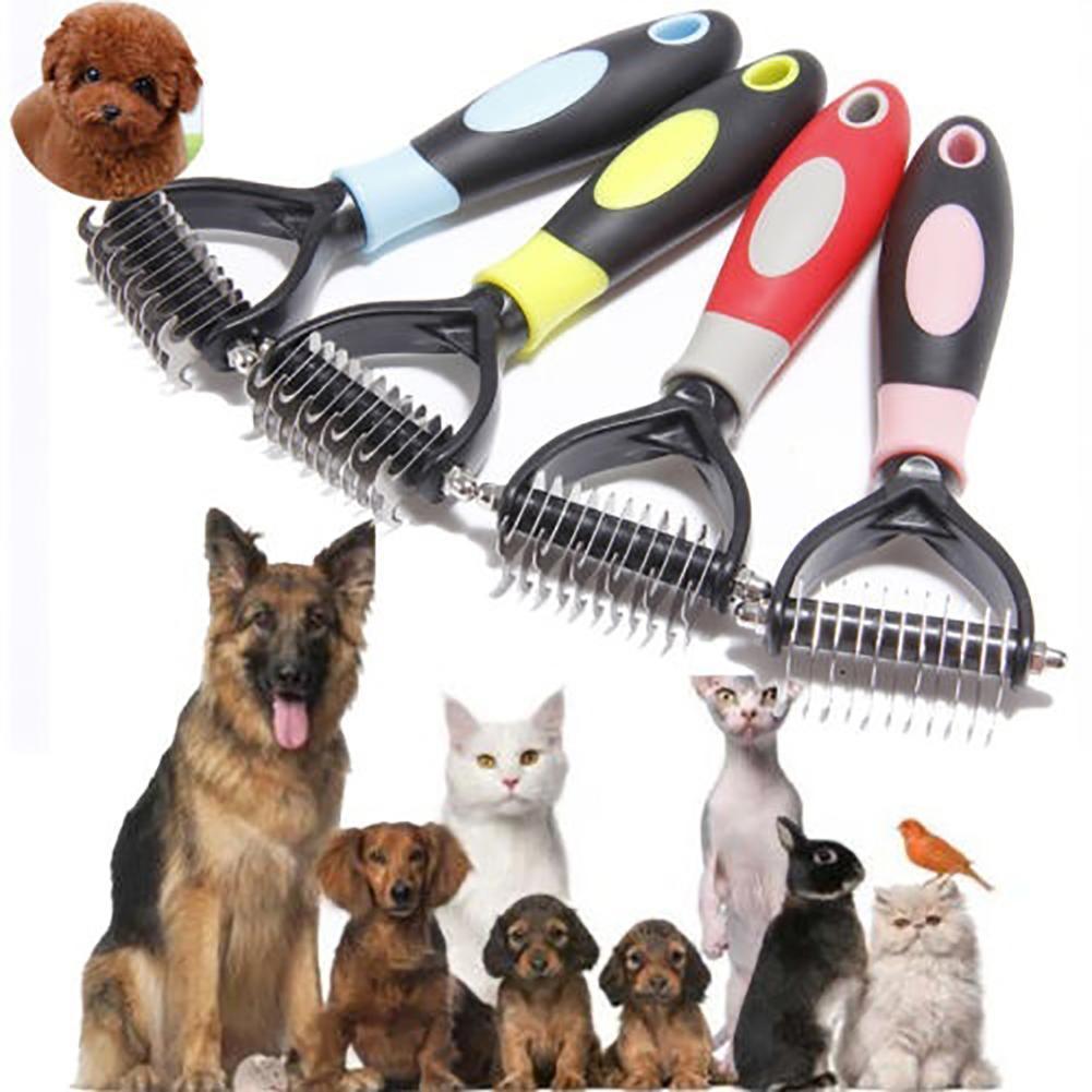 Уход за шерстью кошек и собак